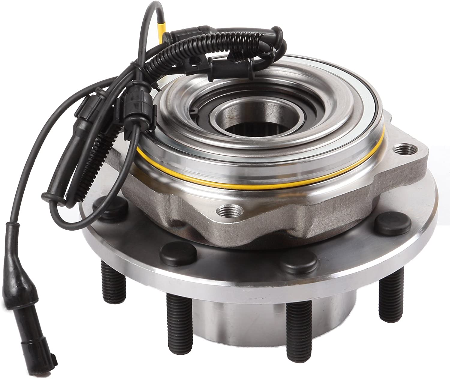 AUTOMUTO Wheel Hub Bearing 515082 Front 8 Lugs Has ABS Sensor Replacement fit Ford F-250 Super Duty 2005-2010 Ford F-350 Super Duty 2005-2010