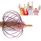 JRD & BS WINL Flow Ring Kinetic 3D Spring Magic Toy –Best Gifts Kids