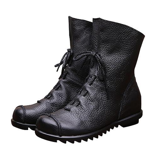 068fff21927 Amazon.com | Women Quality Genuine Leather Classy Vintage Style Soft ...