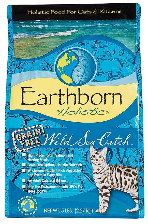 Earth Born Holistic Wild Sea Catch, gato Forro - 2,73 kg ...