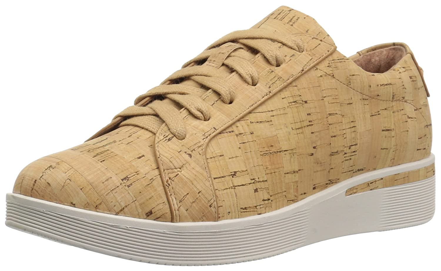 Gentle Souls by Kenneth Cole Women's Haddie Low Profile Fashion Sneaker Embossed Fashion Sneaker B075GZWN5C 6 M US|Natural Cork