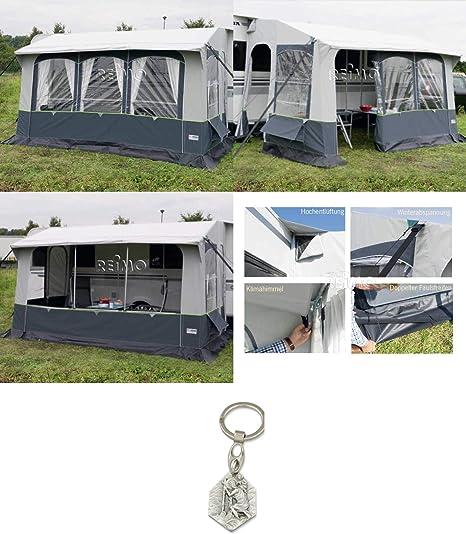 Casa Royal S 390 932988936382 - Carpa para caravana con varillas de acero y colgante, Cristóbal: Amazon.es: Hogar