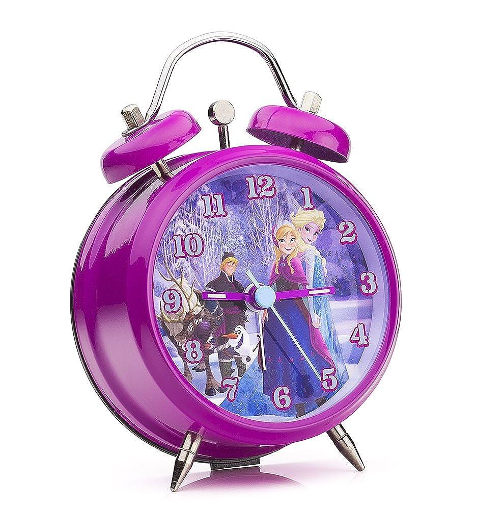 Disney 755408 - Frozen Sveglia, Confezione Regalo, 9 cm, Rosa JOY TOY AG FROZ4