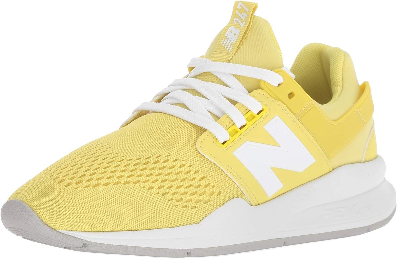 New Balance 247v2, Zapatillas para Mujer, Amarillo (Lemonade/White Ug), 41.5 EU: Amazon.es: Zapatos y complementos