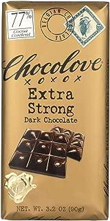 product image for Chocolove Xoxox Premium Chocolate Bar - Dark Chocolate - Extra Strong - 3.2 oz Bars - Case of 12 - Kosher