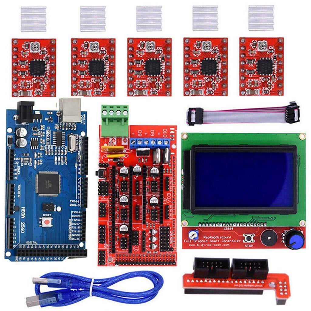 Yanhonin Kit de Impresora 3D para Arduino/Mega 2560 + RAMPS 1.4 + ...