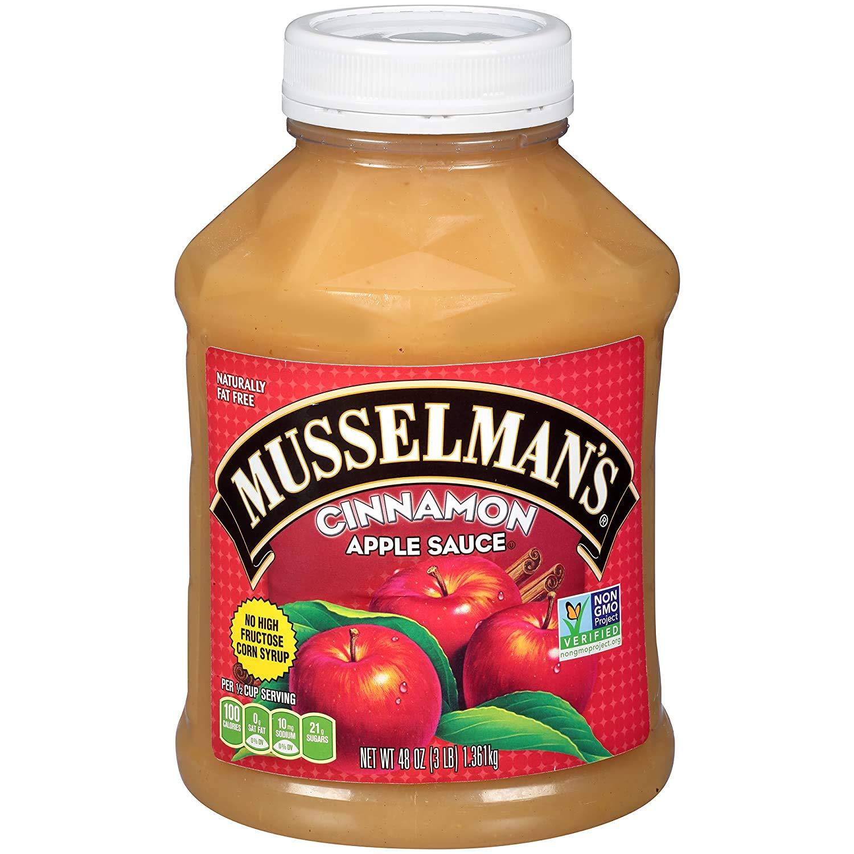 Musselman's Cinnamon Apple Sauce, 48 Ounces (Pack of 2)