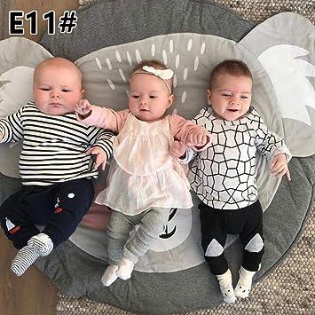 100% algodón tela natural alfombra para gatear bebé alfombra para ...