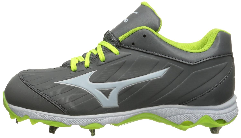 Mizuno Women's 9-Spike Advanced Sweep 3 Softball Shoe B01HQE2PZU 7 D US|Grey/White