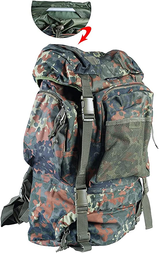 Tactical Fighting Backpack Type Bw New with Aluminium Frame Ca 55 L