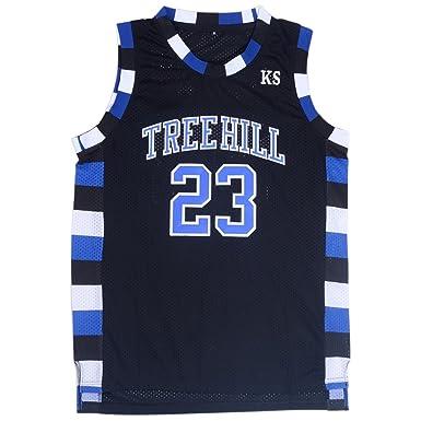 TUEIKGU Playera de Baloncesto para Hombre 23 Nathan Scott Sports ...