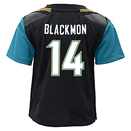Image Unavailable. Image not available for. Color  Nike Justin Blackmon Jacksonville  Jaguars Home Black Toddler Jersey ... 778feee6c