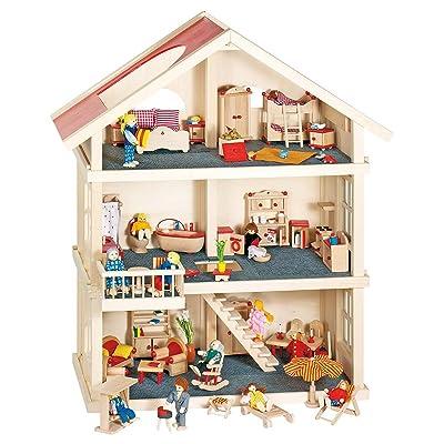 Goki 51957 - Maison de poupées - 3 étages
