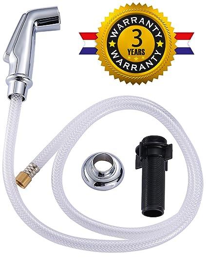 Amazon.com: Kitchen Sink Sprayer, Kitchen Faucet Spray Hose & Sink ...