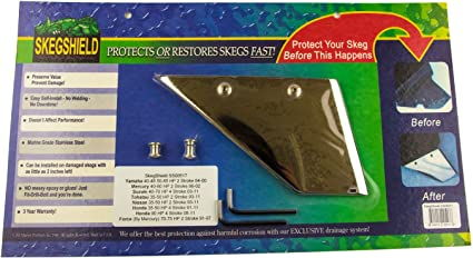 Skeggard USA MADE 75-90-115hp HONDA SKEG GUARD SKEG PROTECTOR 1995-2007