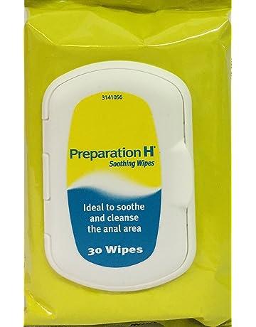 3 paquetes de 30 toallitas Preparation H