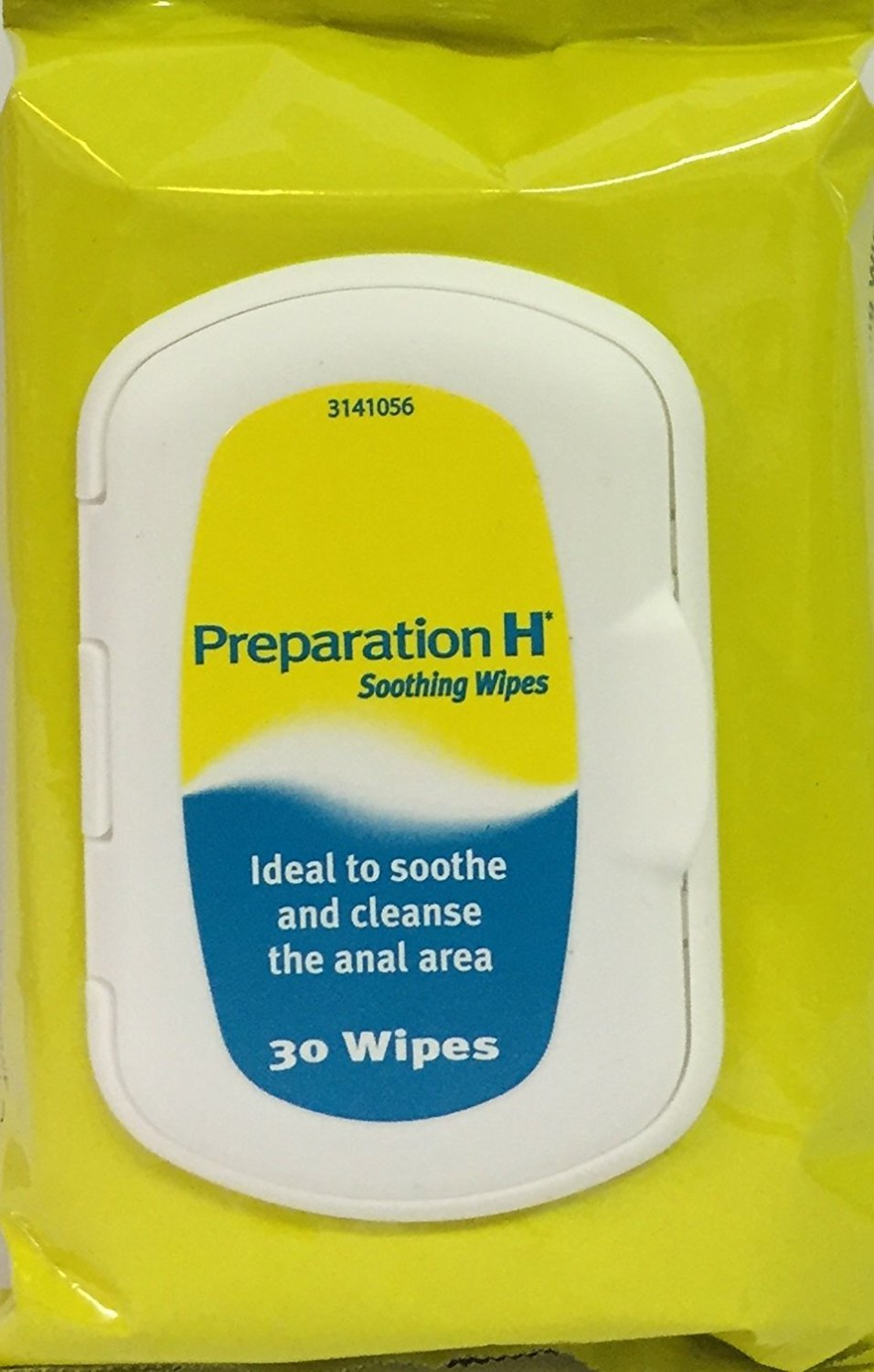 Preparation H 30 Soothing Wipes x 3 Packs