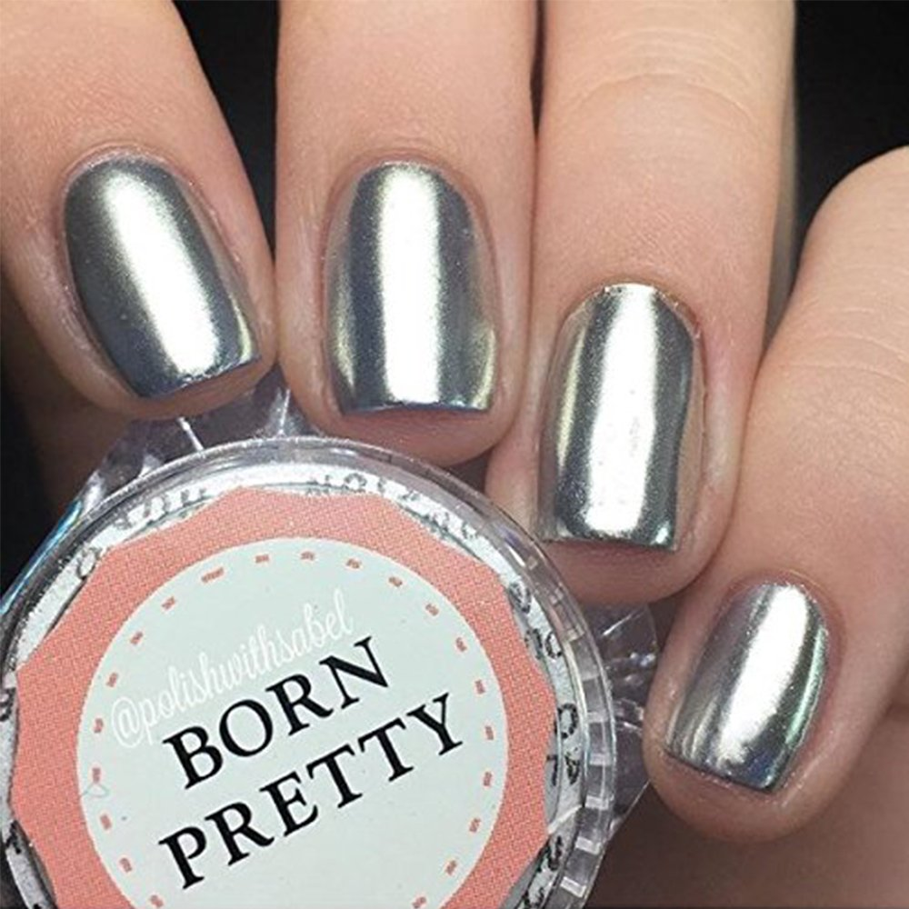 Born Pretty 1g/box Nagel Pigment Mirror Powder Nail Glitzer Spiegel ...