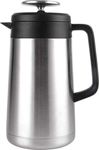 Stainless Steel French Press Coffee Maker 34 oz