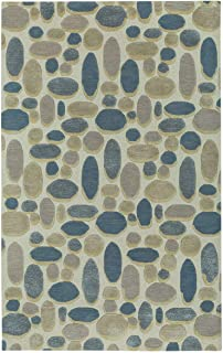 "product image for Capel Evening Shade Ecru Blue 9' 0"" x 12' 0"" Rectangle Hand Tufted Rug"