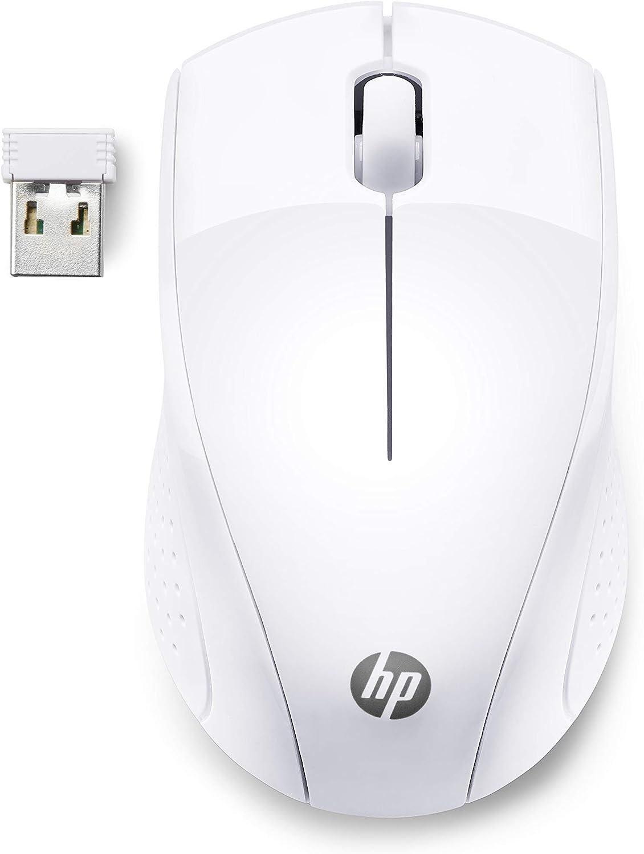 HP 220 - Ratón inalámbrico, Blanco