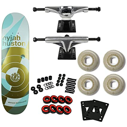 a7635eae46681 Amazon.com : Element Skateboards Complete Nyjah Huston On Point 8.1 ...