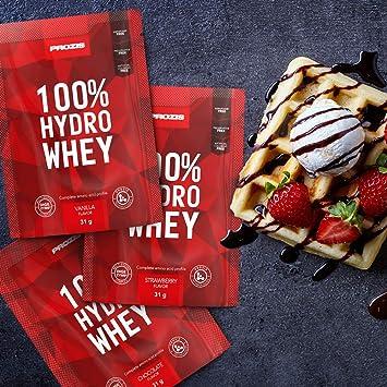 Prozis - Bolsa 100% Hydro Whey, 31 g: Amazon.es: Salud y ...
