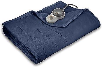 Sunbeam Quilted Fleece Heated Blanket w/EasySet Pro Controller