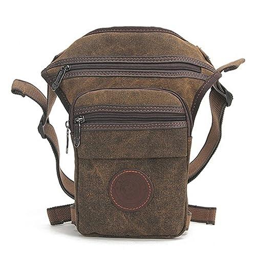 Outreo Riñonera Ocio Bolso de Cintura Hombre Bolsa de Pierna Bolsas de Viaje Deporte Bolsos de Tela Gimnasio Outdoor Sport Bag