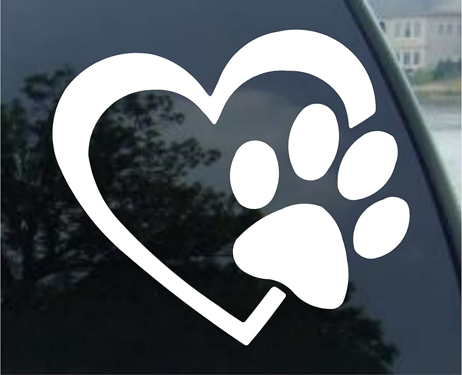 Animal Lover Decal - Car Window, Laptop, Computer, or Folder / Sticker Graphic
