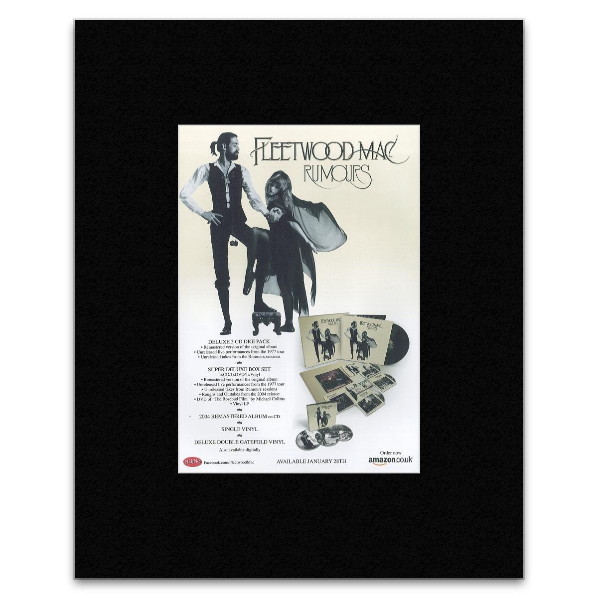 Amazon.com: Uncut FLEETWOOD MAC - Rumours Mini Poster - 28.5x21cm ...