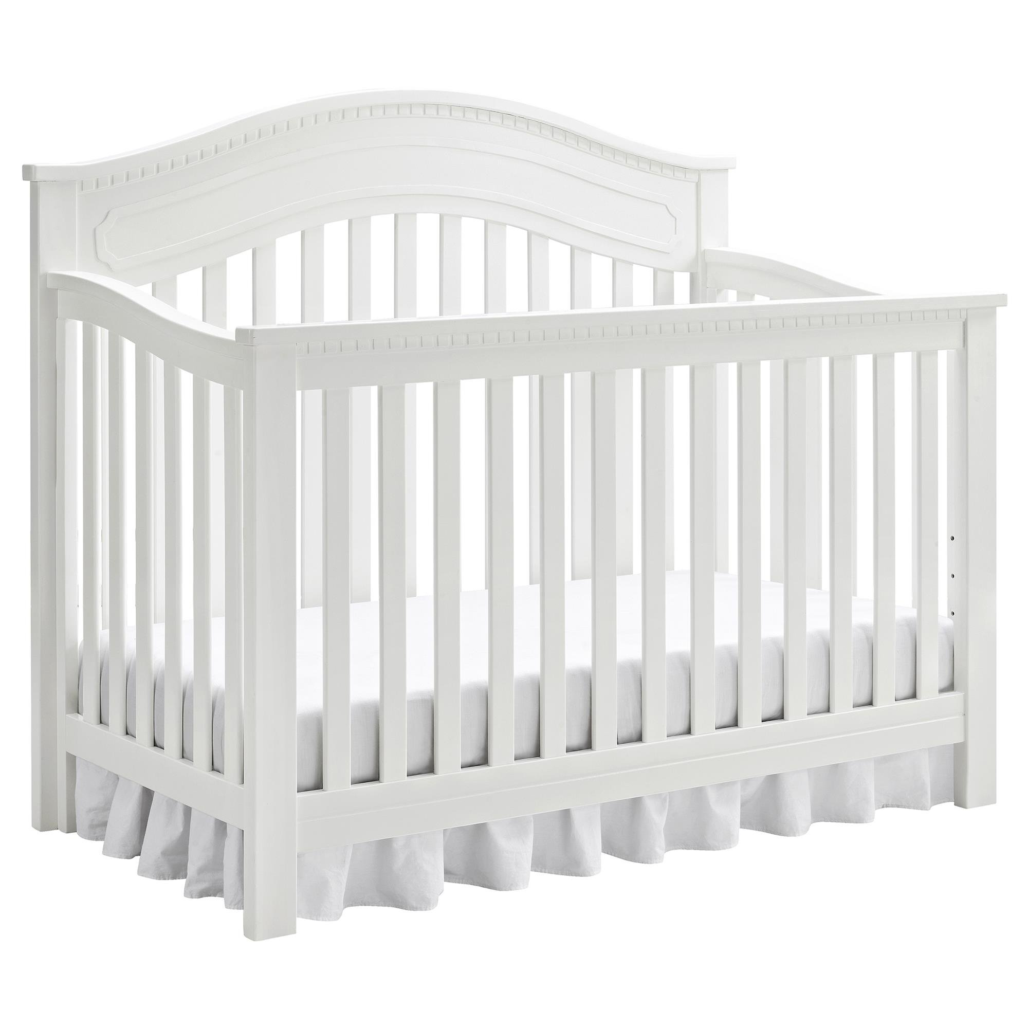 Full Size Conversion Kit Bed Rails for Baby Relax Edgemont, Miles & Rivers Cribs by Dorel Living - White by CC KITS (Image #7)