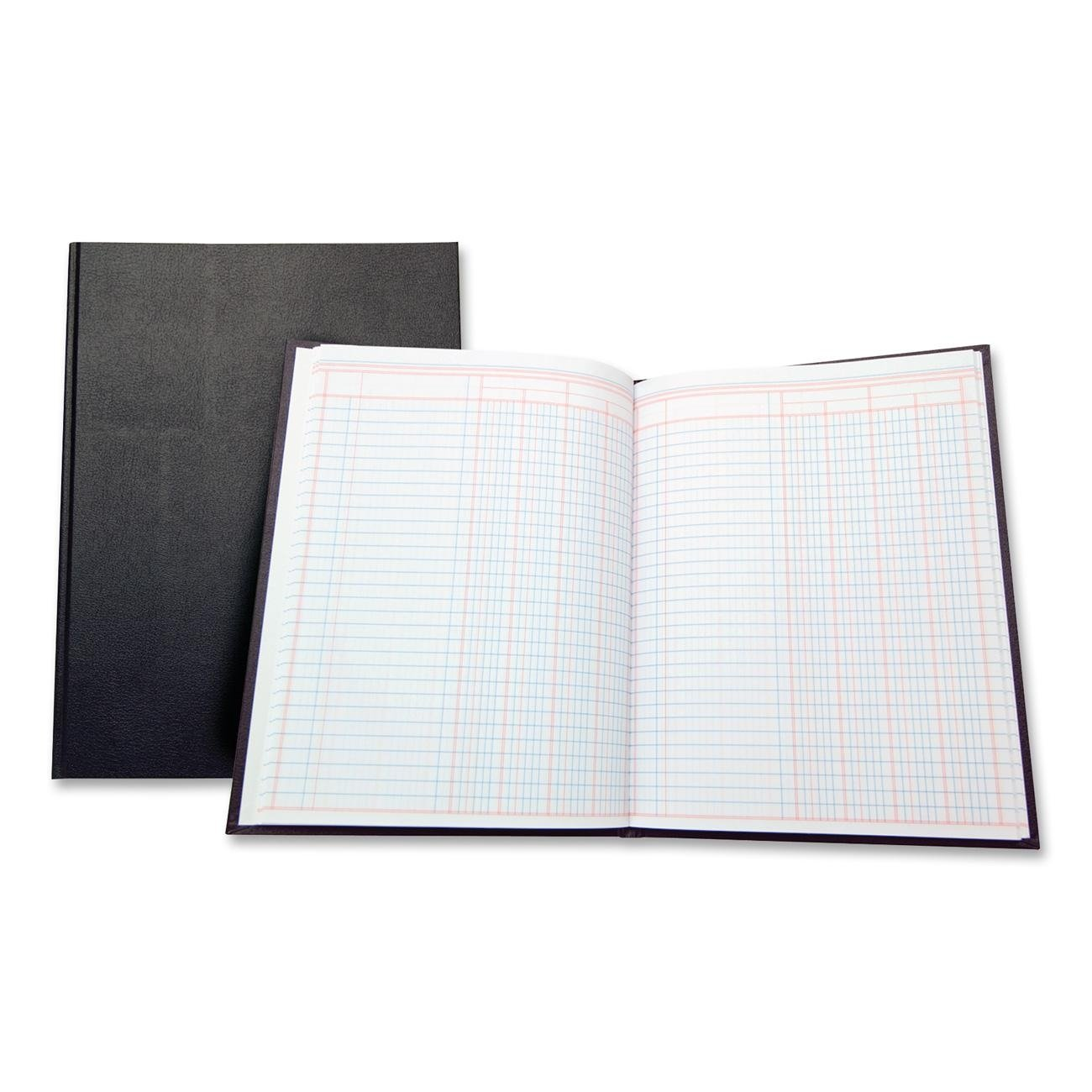 Wilson Jones(R) Single Page Columnar Book, 9 1/4in. x 7in, 4 Columns (74104A) ACCO Brands