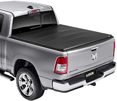 Amazon Com Gator Etx Soft Tri Fold 5 7 Truck Bed Tonneau Cover 59201 Fits 2009 2018 2019 2020 Classic Dodge Ram 1500 3500 Made In The Usa Automotive