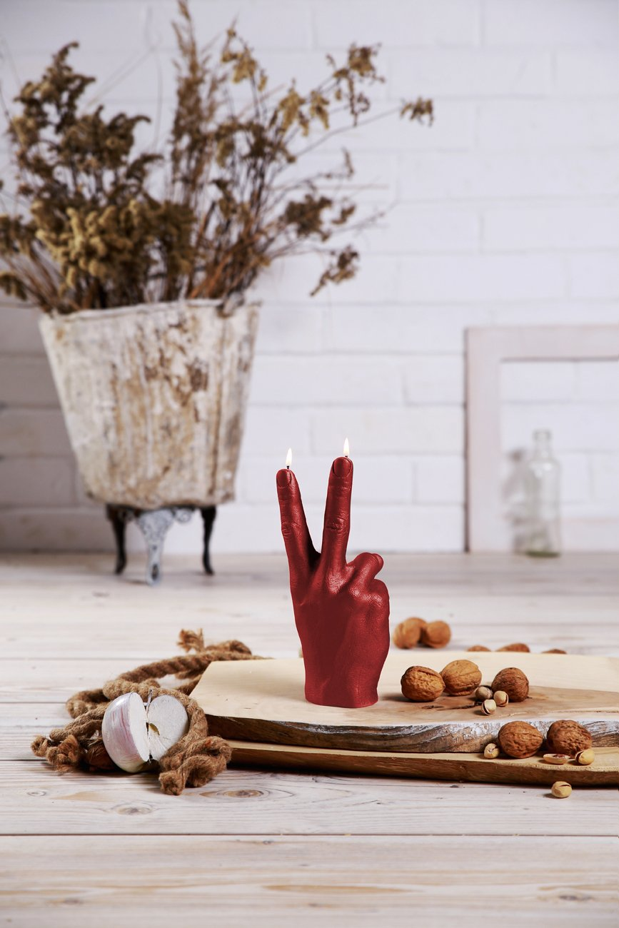 Candellana Candles Candellana- Peace Candle-Red by Candellana Candles (Image #4)
