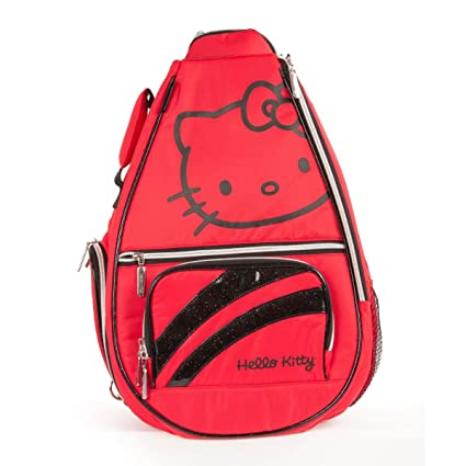 4c33d843f48 Image Unavailable. Image not available for. Color  Hello Kitty Sports  Premier Collection Tennis Backpack, Red