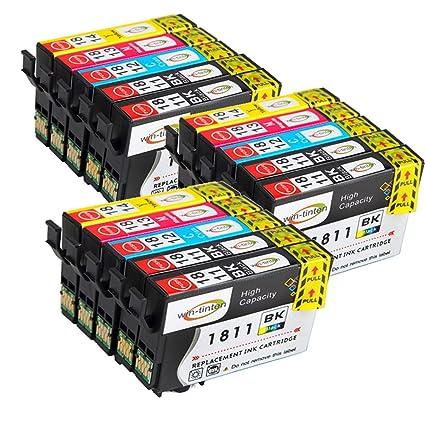 wintinten 15-Pack Compatible Cartuchos de tinta Epson 18 X L ...