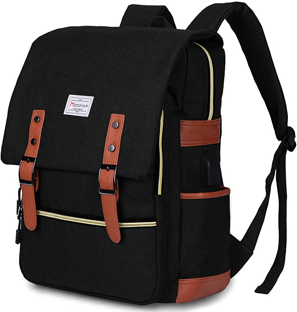 Top 8 Black Backpack Laptop Waterbottle Pockets Suppport