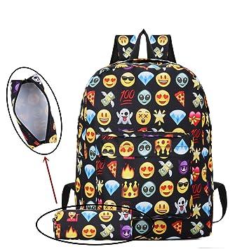 vívido y de gran estilo gama completa de artículos Últimas tendencias Mochila Emoji, de Caveen, hermoso diseño 3D, mochila Emoji ...