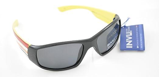 Gafas de sol polarizadas Bimbo INVU K 2409 a negro amarillo lentes 100% UV Block Sunglasses Polarized extensible: Amazon.es: Deportes y aire libre