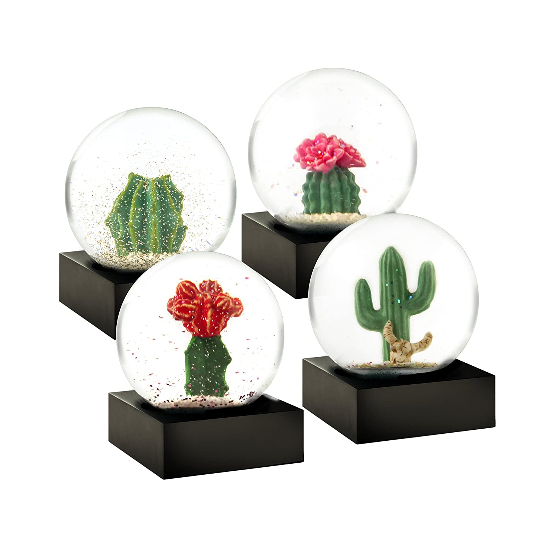 CoolSnowGlobes Zen Mini Set of Four Snow Globes CS295-ZENM