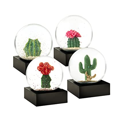 wide varieties good quality best deals on CoolSnowGlobes Cactus Mini Set of Four Cool Snow Globes ...