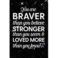 You Are Braver Than You Believe Stronger Than You Seem & Loved More Than You Know...