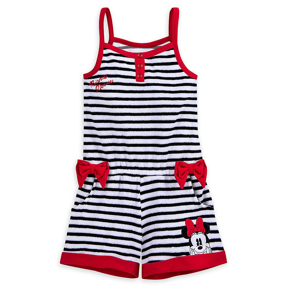 Disney Minnie Mouse Romper Cover-up for Girls 458035928149