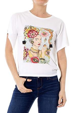 calzado diseño encantador disfruta de un gran descuento Desigual Mujer Camisetas: Amazon.es: Ropa y accesorios
