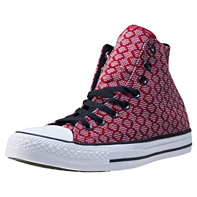 Converse Ct All Star Ii Hex Jaquard Hi Herren Sneakers  8 UK
