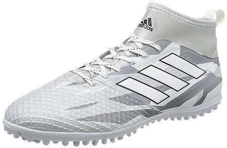 Botas Adidas Ace 17.3 Blancas Suela Turf Con Calcetín  Amazon.es ... 29173989a50a8
