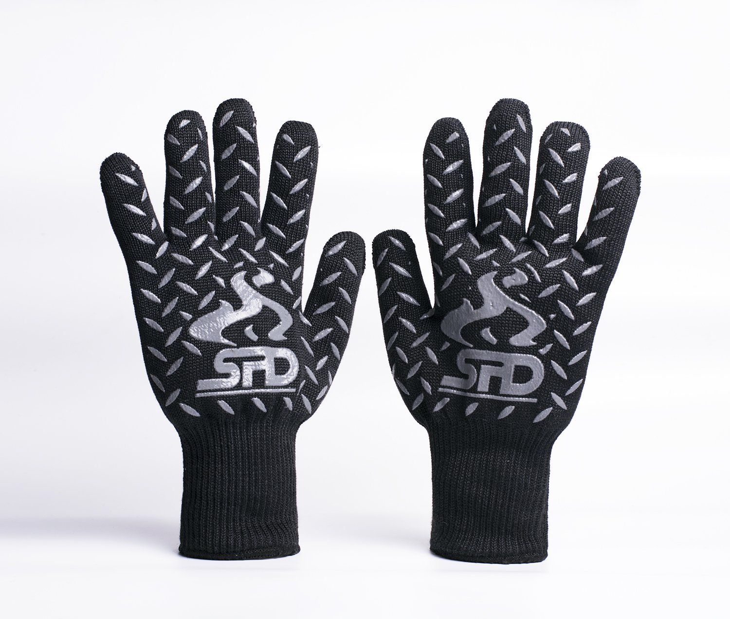 Black oven gloves john lewis - Bbq Grill And Oven Gloves Spd 932 F Extreme Heat Resistant Gloves Cooking Gloves And Bbq Grill Mitts With Lining High Temperature Woodburner Oven Mitts