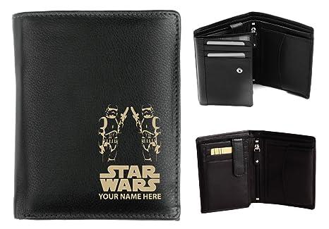 Personalizzata portafoglio in pelle per uomo marcati al laser con