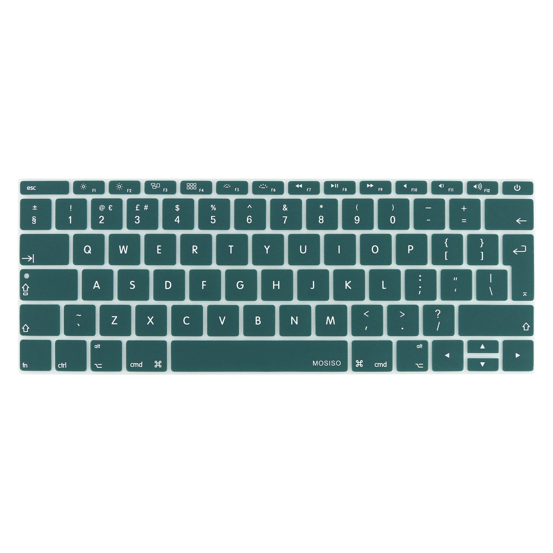 ,Marmo Colorato MOSISO Cover per Tastiera Compatibile con MacBook PRO 13 Pollici 2017 e 2016 Versione A1708 No Touch Bar /& New MacBook 12 Pollici Protezione Pelle A1534 Layout EU